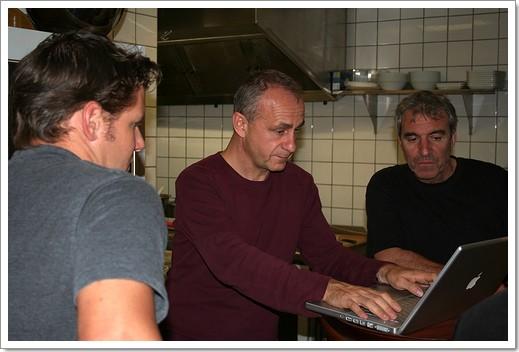 Premier blogmeeting à Strasbourg : jusque dans la cuisine ! ;)
