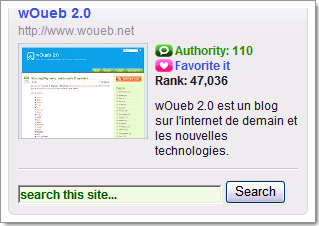 Mesurer la popularité d'un blog : indicateur Technorati