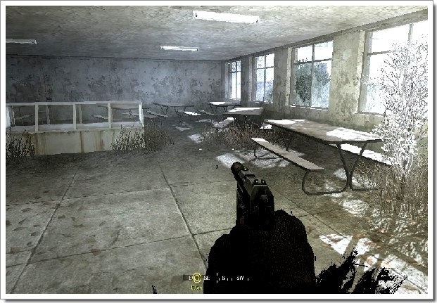 Call Of Duty 4 Modern Warfare : école détruite
