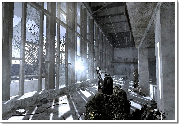 Call Of Duty 4 Modern Warfare : ancienne piscine détruite en Russie