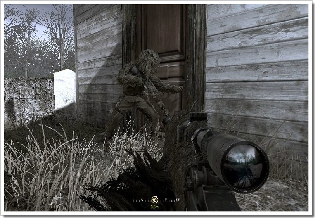 Call Of Duty 4 Modern Warfare : sniper