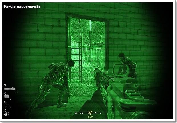 Call Of Duty 4 Modern Warfare : vision nocture