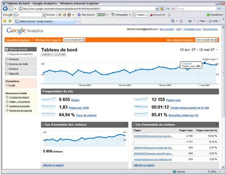 Nouvelle version de Google Analytics