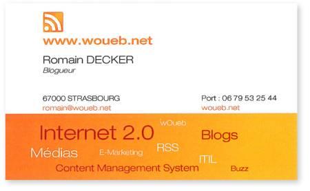 Ma carte de visite : wOueb.net