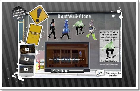 Don't Walk Alone : teasing urbain de Sony