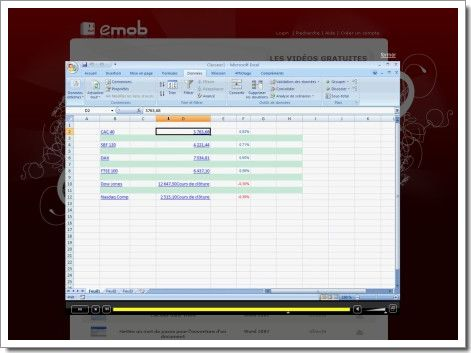 Tutorial vidéo sur la plate-forme Emob