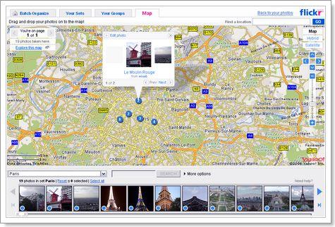 Géotaggez vos photos dans Flickr - wOueb