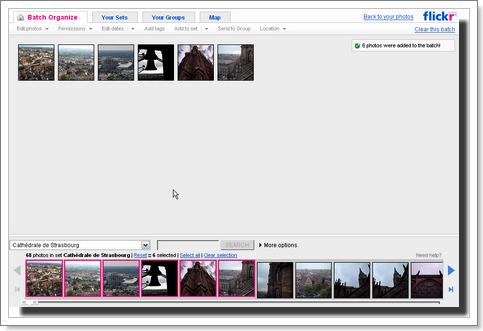 Organizr : gestion de vos photos dans Flickr - wOueb