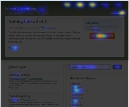 CrazyEgg : visualisez graphiquement les clics de vos visiteurs