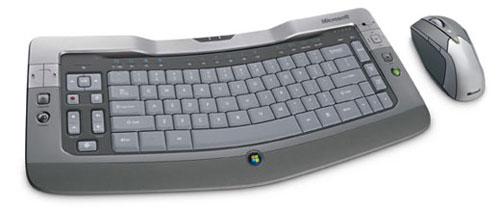 Présentation du Microsoft Wireless Entertainment Desktop 8000 - wOueb.net