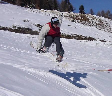 Romain en snowboard - wOueb.net