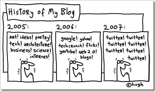 Twitter, twitter, twitter !