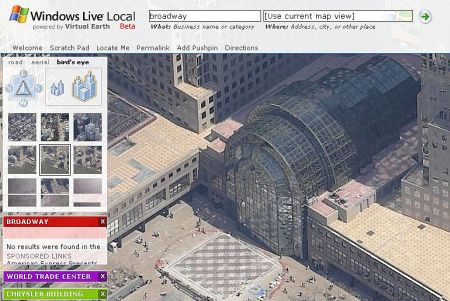 Windows Live Local : New-York - wOueb.net