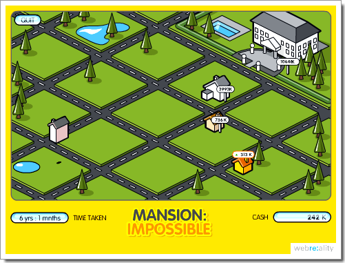 Mansion Impossible : devenez un agent immobilier (ou un escroc)