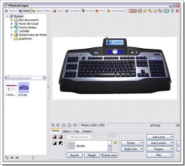 Photoscape : logiciel gratuit de gestion et d'éditions de photos