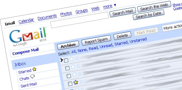 Mon application coup de coeur 2004 : Gmail