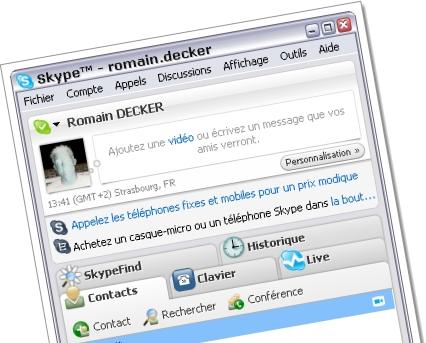 Mon application coup de coeur 2003 : Skype