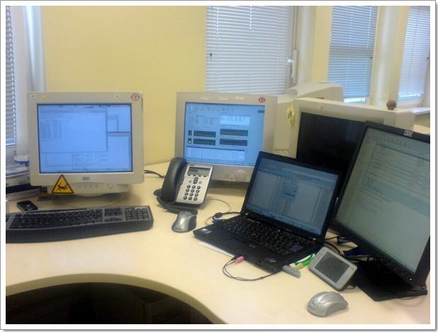 Voilà mon bureau...
