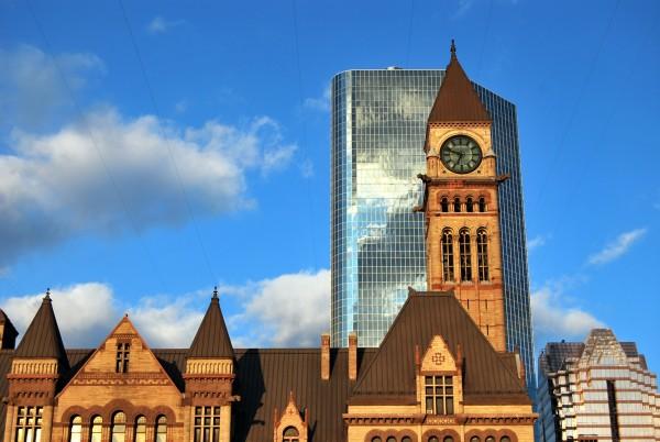 Canada : l'ancien hôtel de ville de Toronto