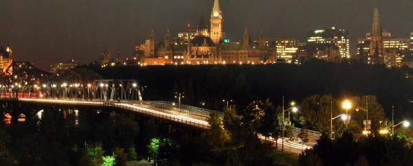 Canada : la colline parlementaire d'Ottawa