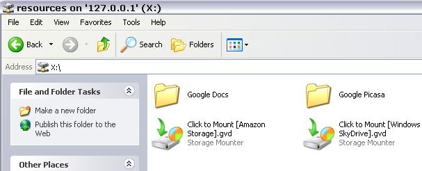 Gladinet Storage Resources