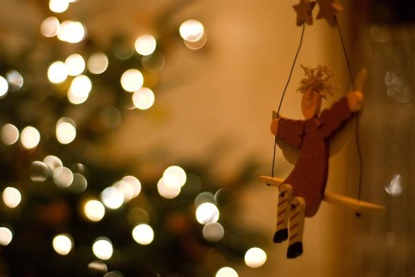 Bokeh : esprit de Noël