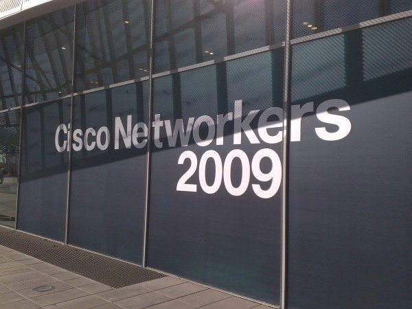 Cisco Networkers 2009 in Barcelona, Spain