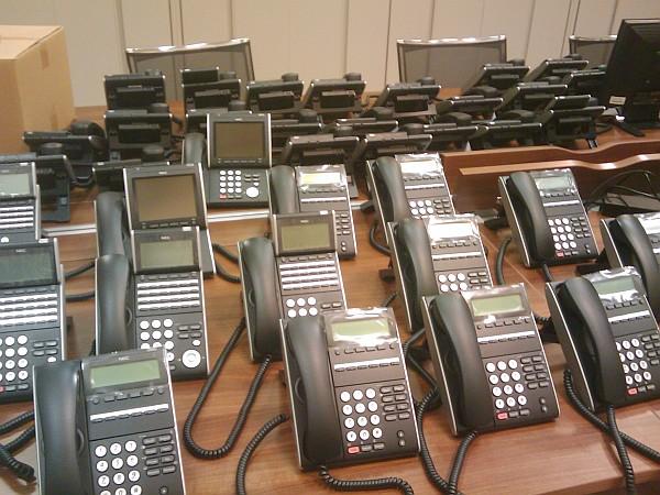 Réunion de téléphones anonymes