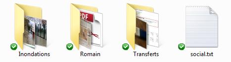 Dropbox : liste des fichiers synchronisés