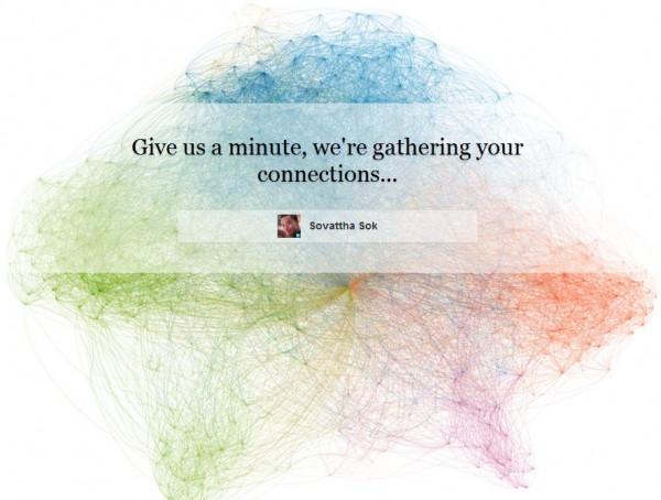 LinkedIn InMaps : initialisation de la carte