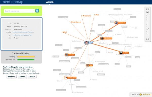 Explorez votre réseau Twitter graphiquement