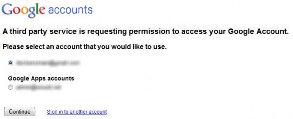 Requête de vérification pour le plugin WordPress Google Site Verification