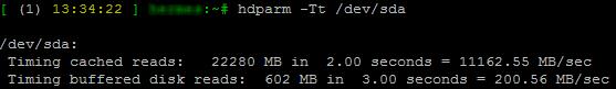 Performances en lecture d'un disque sur Linux