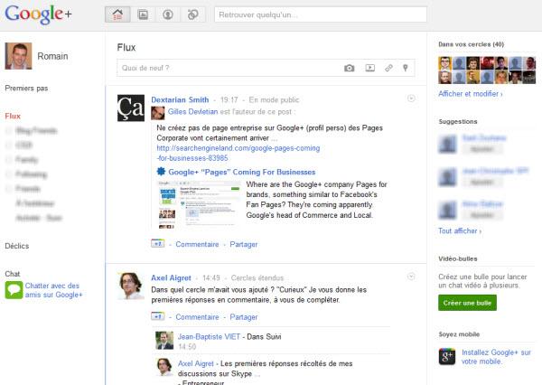 Google+ : peut-être un concurrent à Facebook ?
