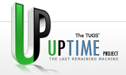 Logo Tugs Uptime Project