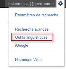 Comment changer la langue de l'interface de Google ?