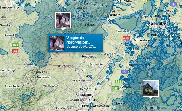 Zones protégées de la planète avec Protectedplanet.net