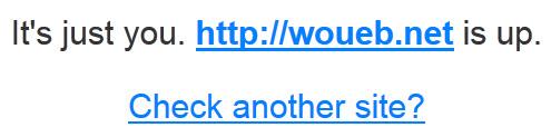 Le site est OK pour tout le monde