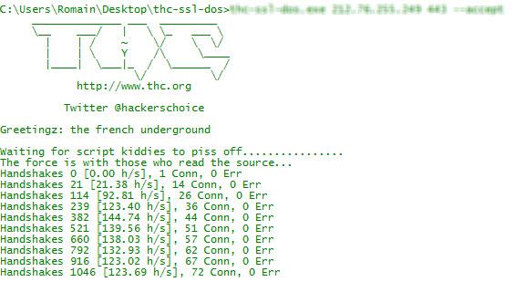 Faille SSL DDos