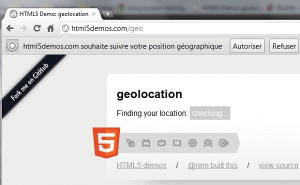 Partager sa localisation sur Google Chrome