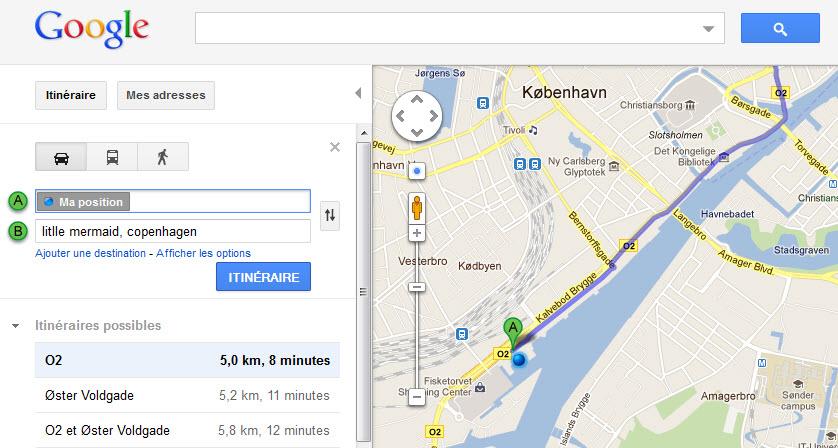 localisation gsm google map