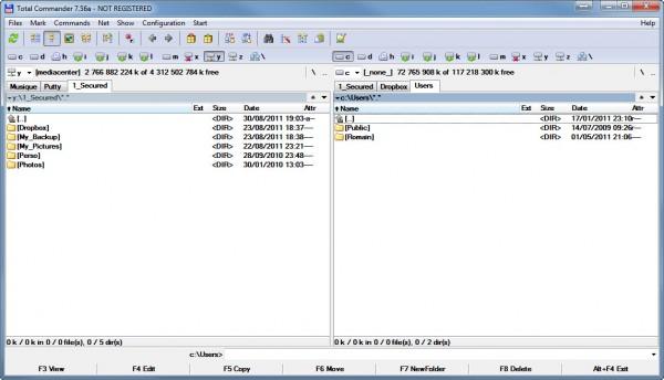Total Commander : le couteau suisse pour la gestion de vos fichiers