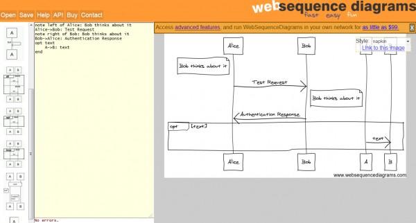 Créez des diagrammes de séquences en ligne gratuit