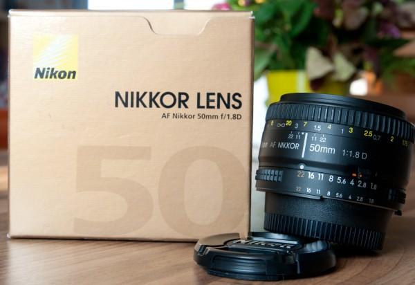 Nikon Nikkor 50 mm f/1.8 AF-D