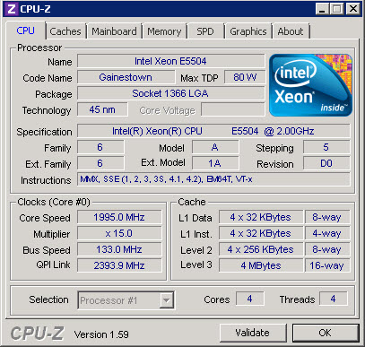 Affichez les informations de votre CPU avec CPU-Z