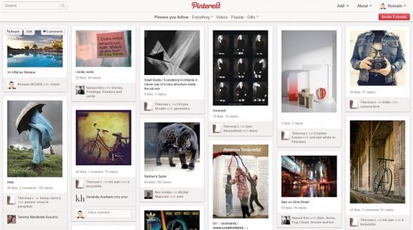 Pinterest, un nouveau réseau social
