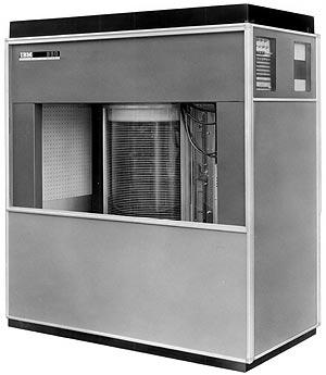 Premier disque dur : IBM 350
