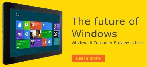 Téléchargez Windows 8 Beta Consumer Preview
