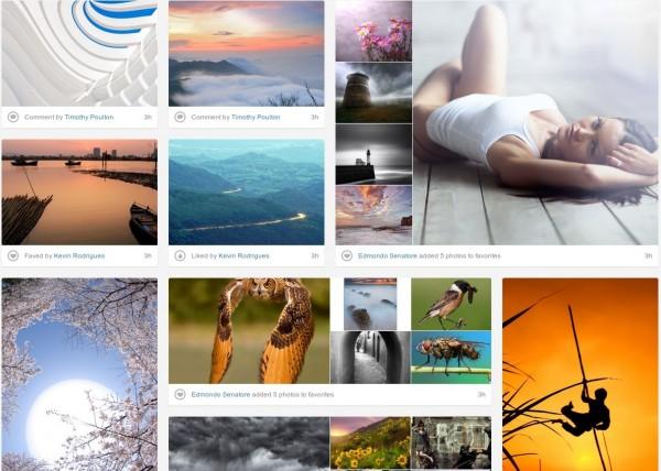 Flow ou sélection sur 500px.com