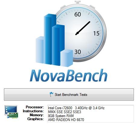 Testez les performances de votre PC ou de votre Mac avec Novabench